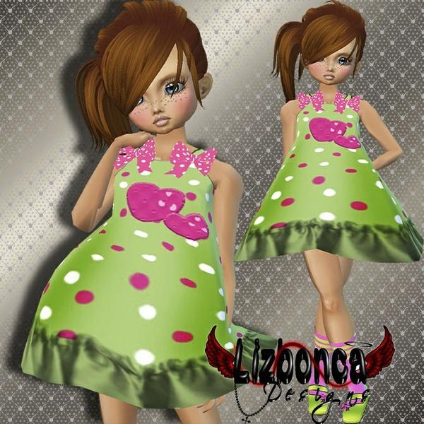 B-Girl3 (Dress - Shoes with socks)