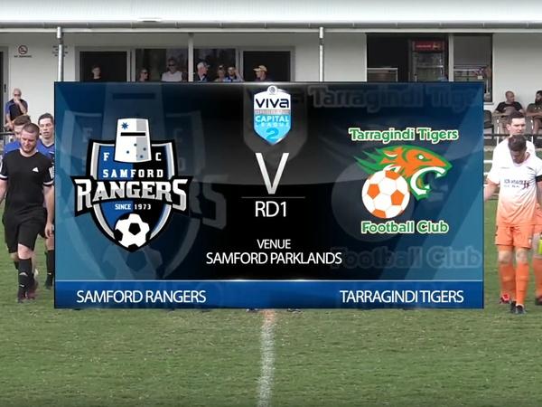 Viva Capital League 2 RD1 Samford Rangers v Tarragindi Tigers Full Game