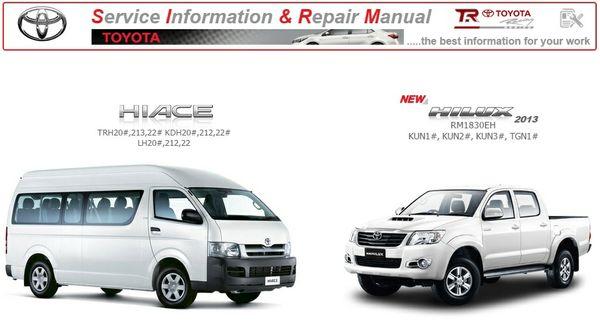 Toyota Hiace & Hilux GSIC