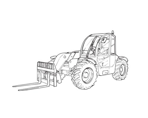 TEREX TEREXLIFT Agrilift 737 - 1037 Telescopic Handler Service Repair Manual