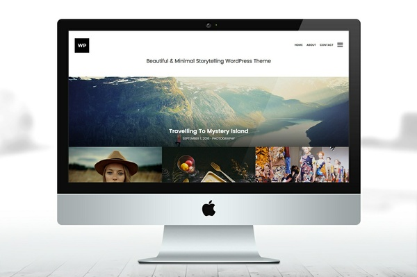 Storytelling WordPress Theme