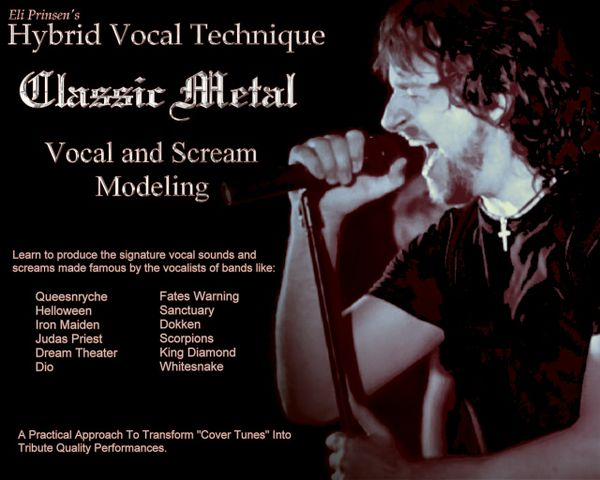 HVT - Classic Metal - Vocal and Scream Modeling Program