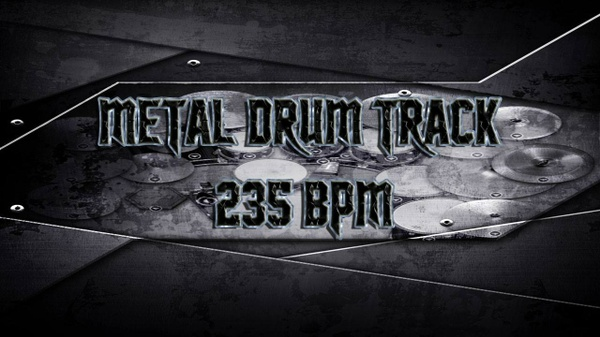 Metal Drum Track 235 BPM - Preset 2.0