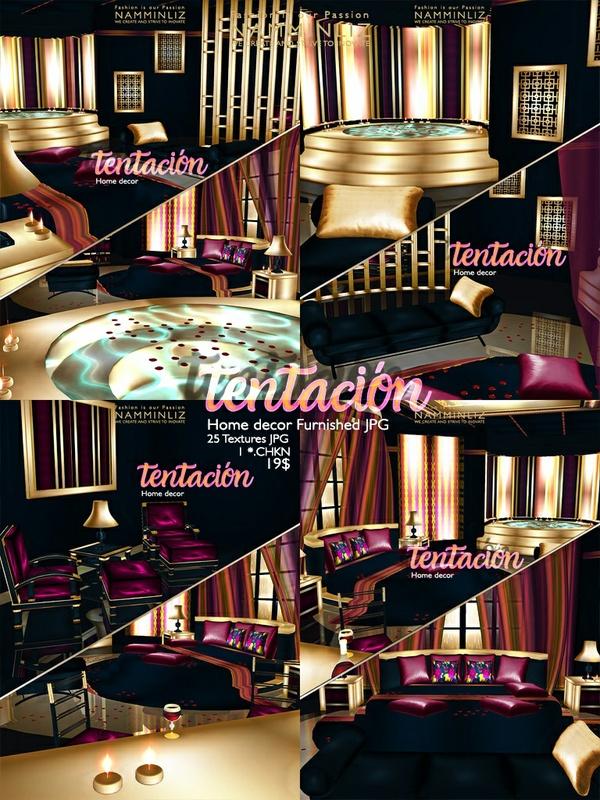 tentación Home decor furnished JPG 25 Textures