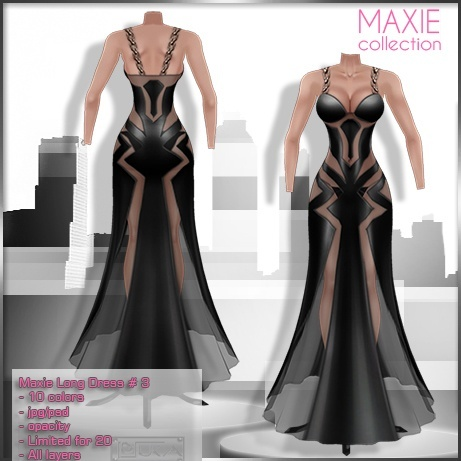 2014 Maxie Long Dress # 3