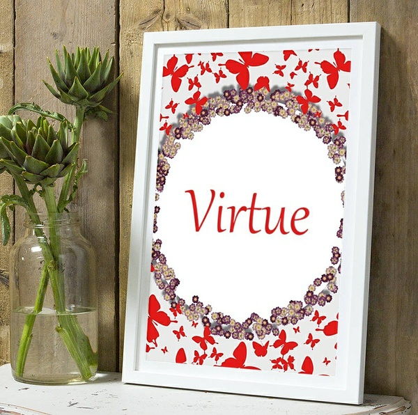 Virtue Wall Art Decor