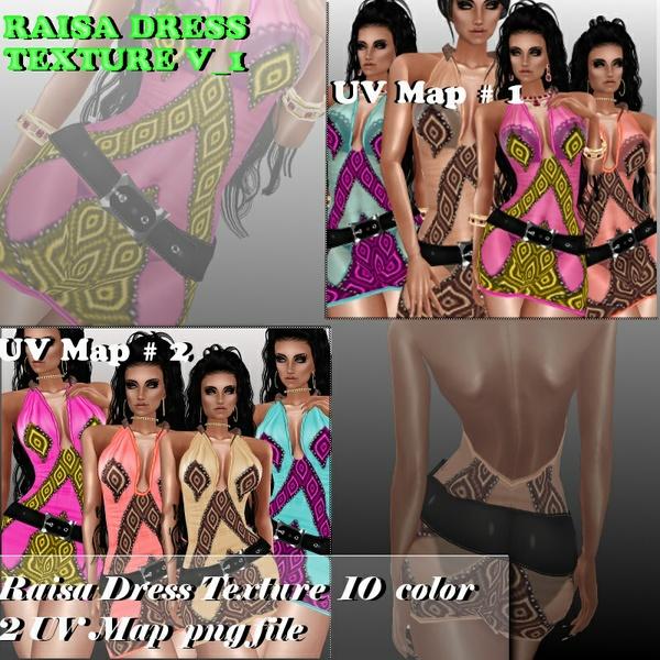 RAISA TEXTURE DRESS V_1