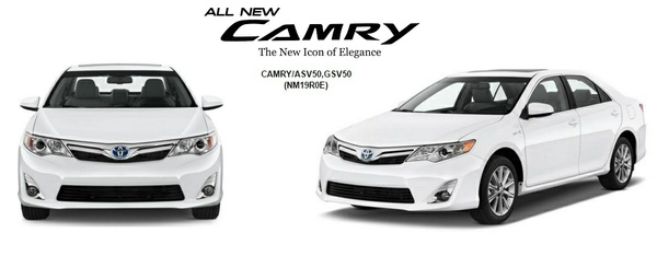 Toyota Camry 2013 GSIC Workshop Manual