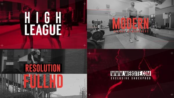 Template High League Sport sony vegas 12 13 14