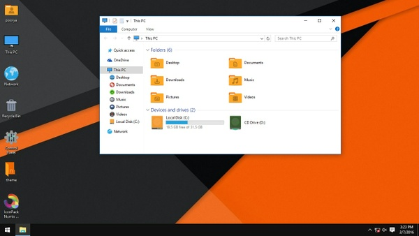 Numix Orange IconPack