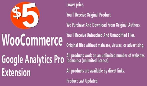WooCommerce Google Analytics Pro Extension