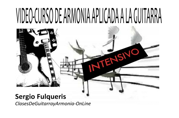 Video/Curso Intensivo de Armonía Aplicada a la Guitarra
