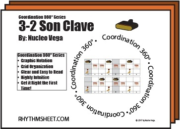 Coordination 360° Series: Son Clave 3-2