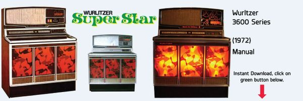 "Wurlitzer 3600 ""Super Star"" (1972)"