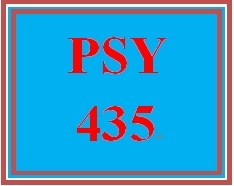 PSY 435 Week 4 Factors Affecting Employee Performance