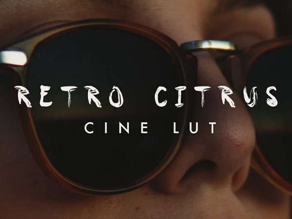 RETRO CINE CITRUS LUT   for Sony Cine ( a6300 / a6500 / a7s) footage