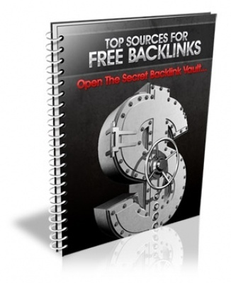FREE eBook With Master Resell Rights Top Sources For FREE Backlinks