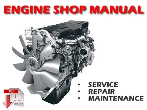Scania Industrial Diesel 9 litre engine with 5 cylinders Service Repair Workshop Manual