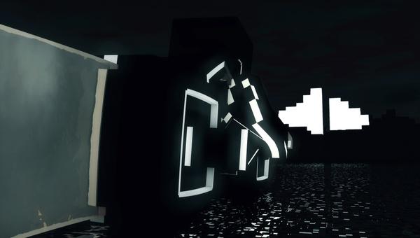 Minecraft   Tron light cycle