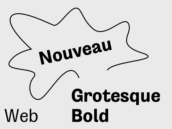 Nouveau Grotesque Bold Web 10.000 Pageviews