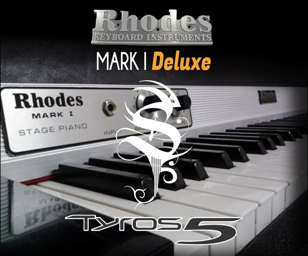 Rhodes Mark I Deluxe For Tyros 5 - BETA VERSION V1.1