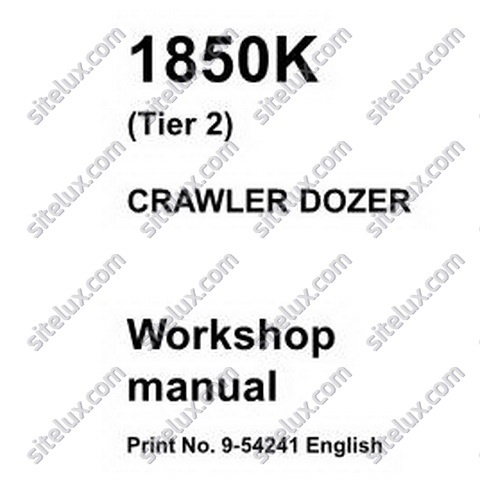 Case 1850K (Tier 2) Crawler Dozer Workshop Manual
