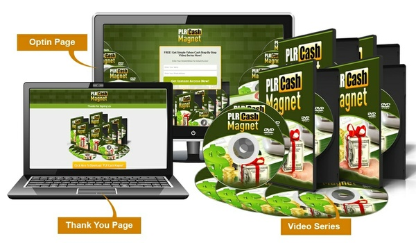 PLR Cash Magnet - Video Series