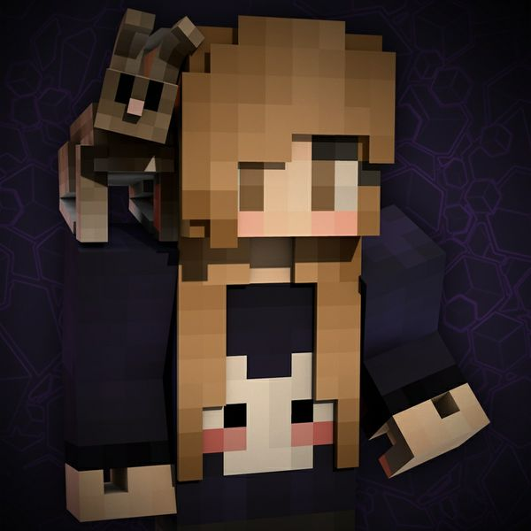 3D Minecraft Profile Picture w/ Extra Render
