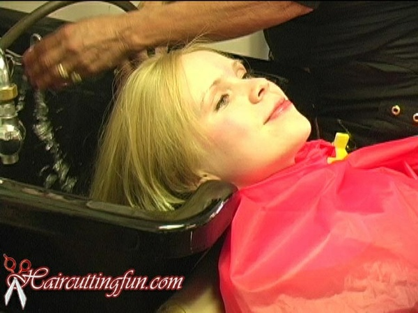Anneli's Haircut and Blonde Afro Style - VOD Digital Video on Demand