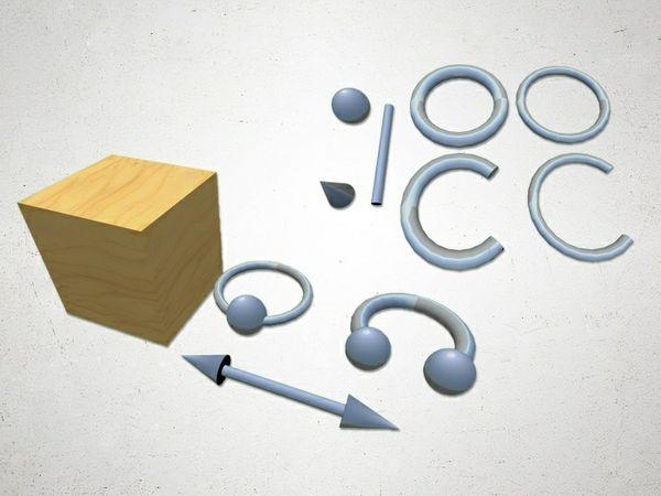 Piercings - 3D Model