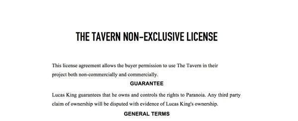 Medieval Music - The Tavern License
