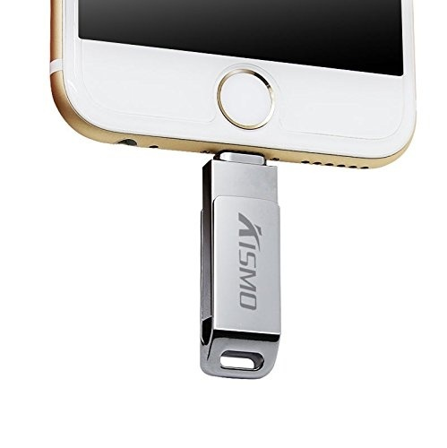 iPhone Flash Drive USB,External Storage Memory Expansion with Extended Lightning Connector