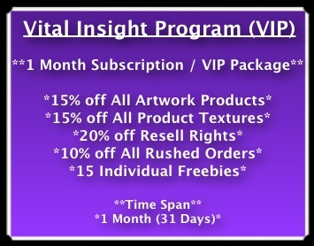 1 Month (31 Days) VIP With VITAL (15 Freebie Textures Included)