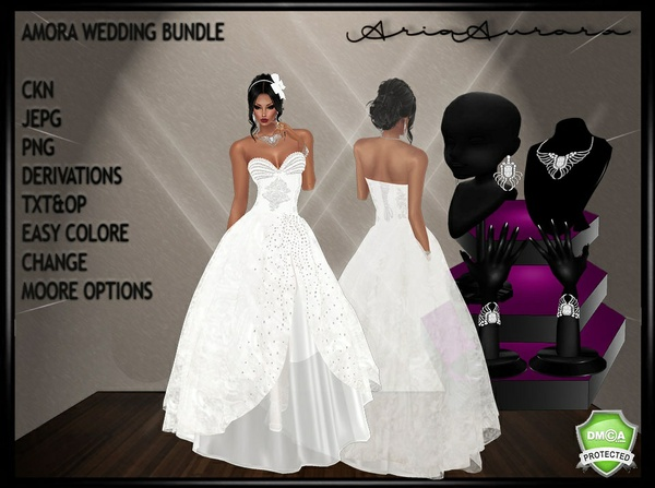 AMORA WEDDING BUNDLE,NO RESELL!!