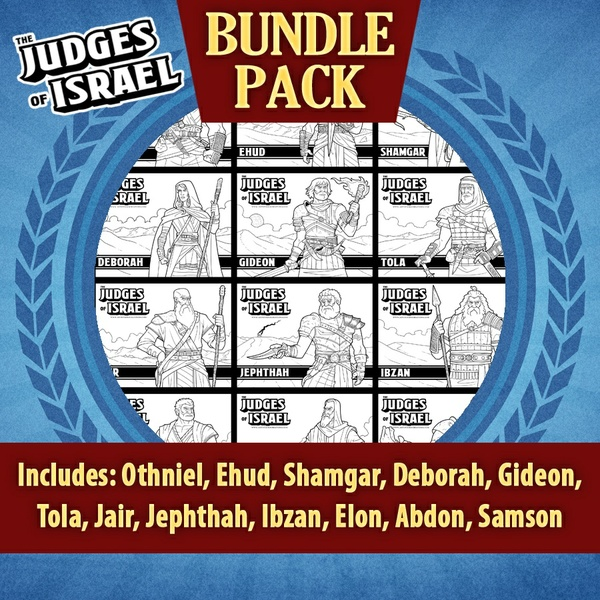 The Judges of Israel Bundle Pack