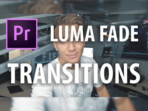 Premiere Pro Preset: Luma Fade Transitions