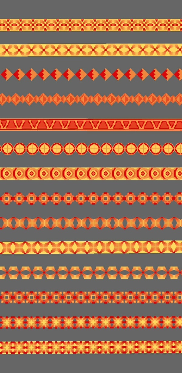 BOAN Clothing Pattern Brushes Pack 2