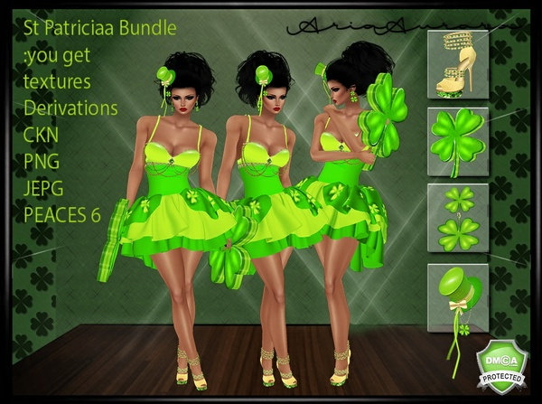 St Patricia Bundle,Resell Right to 5 People ONLY!!!