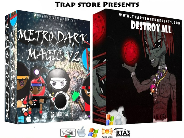 Trap Store Presents - Metro Dark Magic V2 & Destroy All Percs