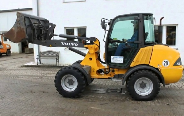 VOLVO L25B COMPACT WHEEL LOADER SERVICE REPAIR MANUAL - DOWNLOAD