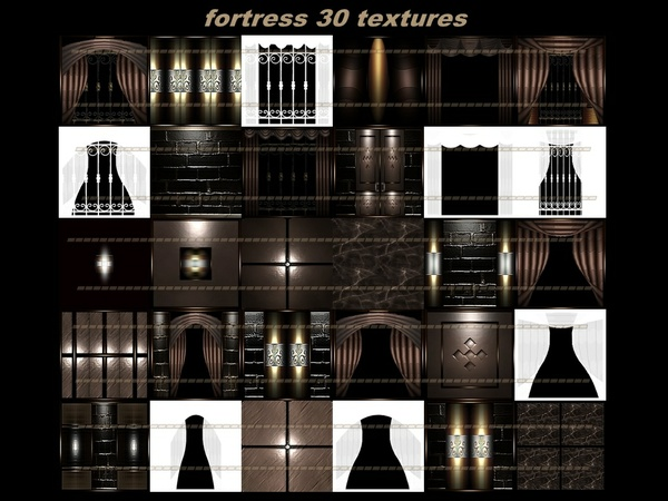 Fortress 30 textures room
