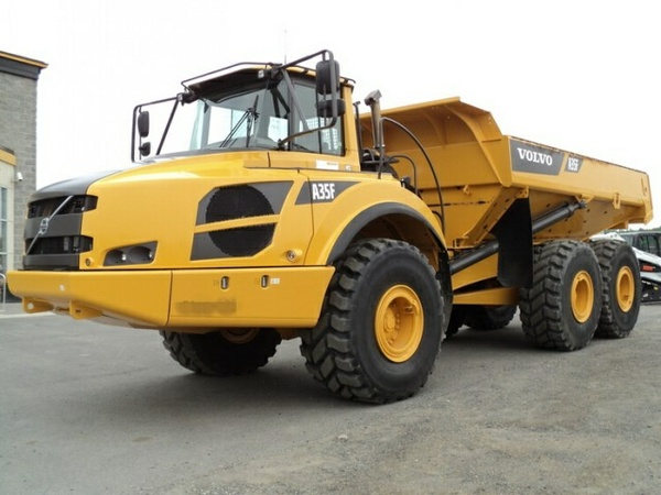 VOLVO A35F FS A35FFS ARTICULATED DUMP TRUCK SERVICE REPAIR MANUAL - DOWNLOAD