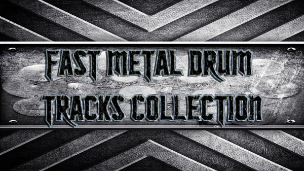 Fast Metal Drum Tracks Collection