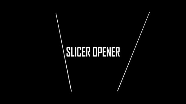 Slicer Minimalistic Opener (SvPro Template)