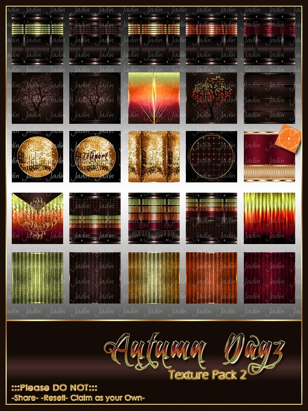Autumn Dayz Texture Pack 2 -- $10.00