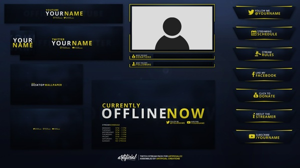 "6K Complete Rebrand Pack ""LITE"" 