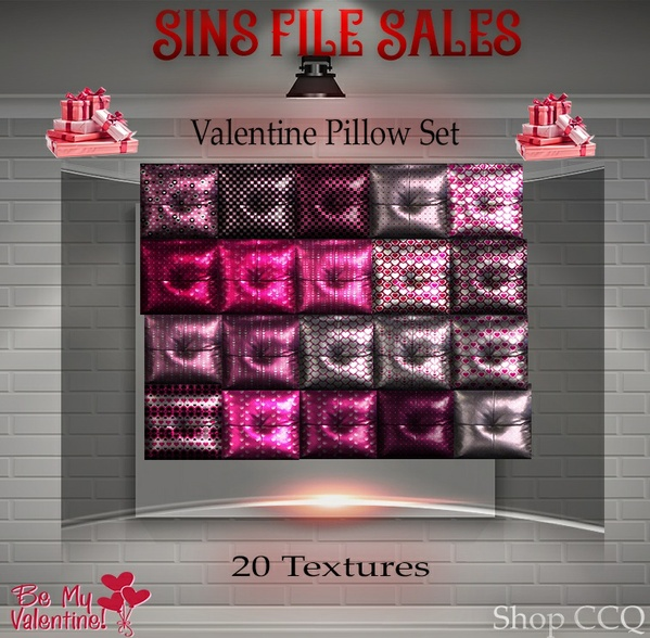 Valentine♥Pillow Set