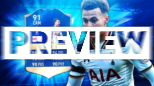 FIFA 17 TOTS ALLI THUMBNAIL TEMPLATE