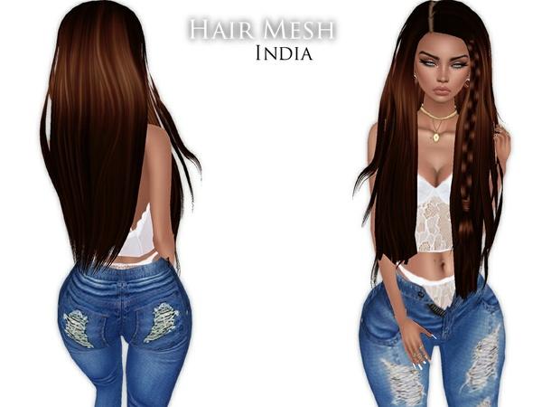 IMVU Mesh - Hair - India