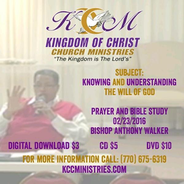 Prayer And Bible Study 02/22/2016